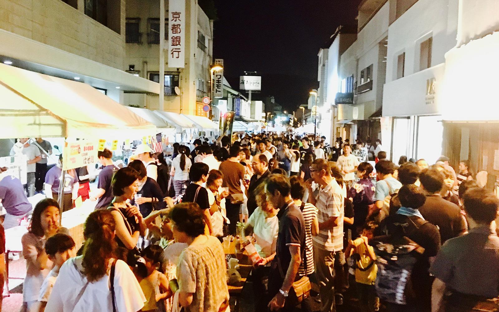 宇治橋通り商店街・クラフトビール夜市2017