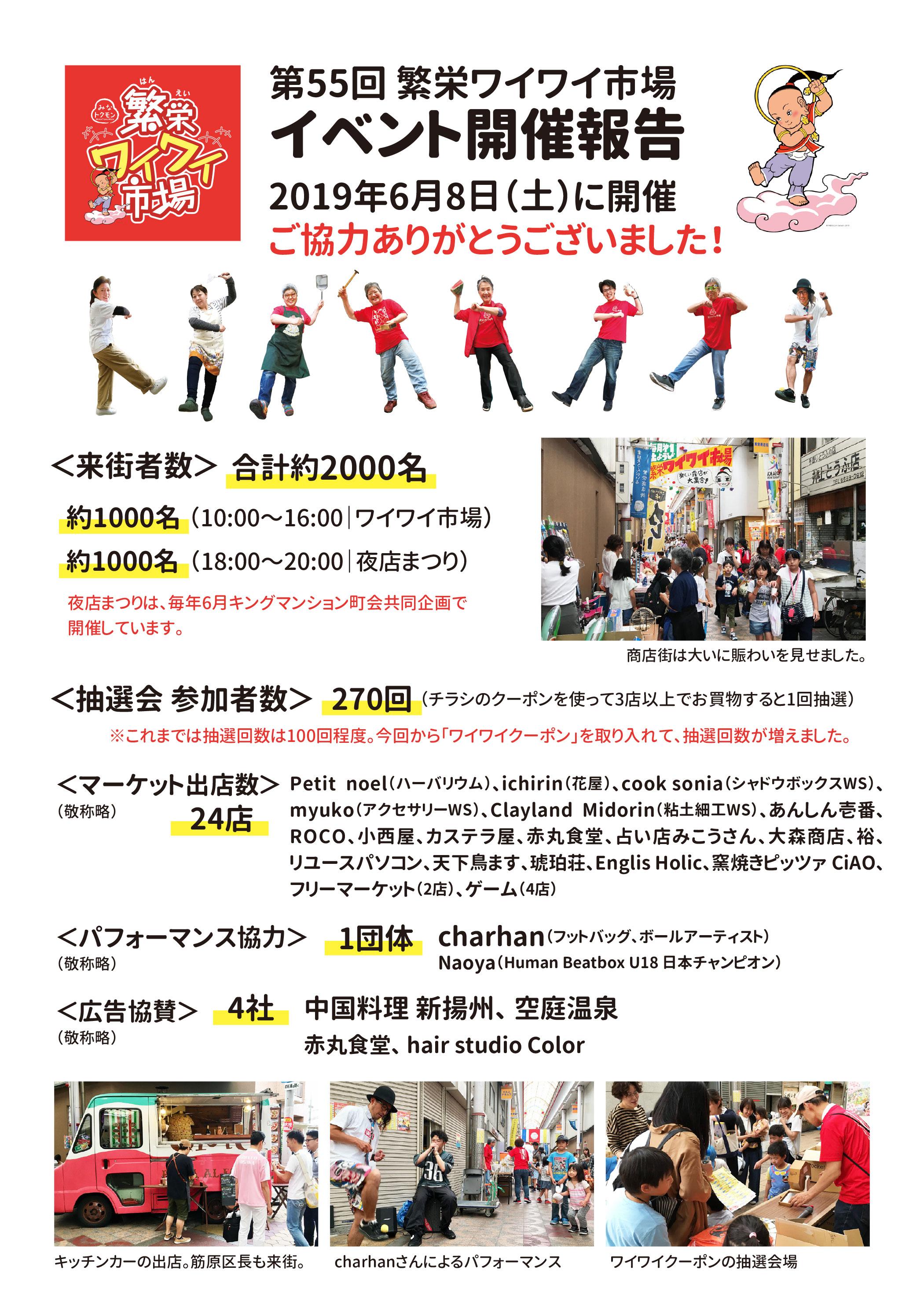 第55回 繁栄ワイワイ市場(大阪市港区・繁栄商店街)