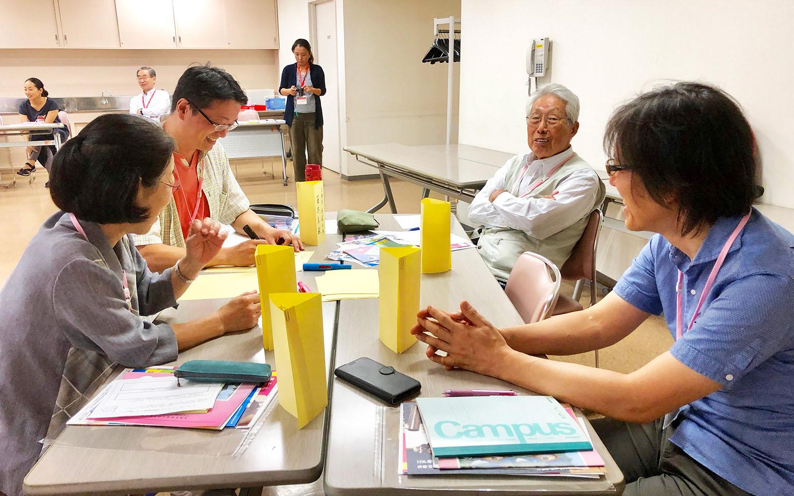 いちょうカレッジ(大阪市立総合生涯学習センター)9月13日講師・市民活動応援コース