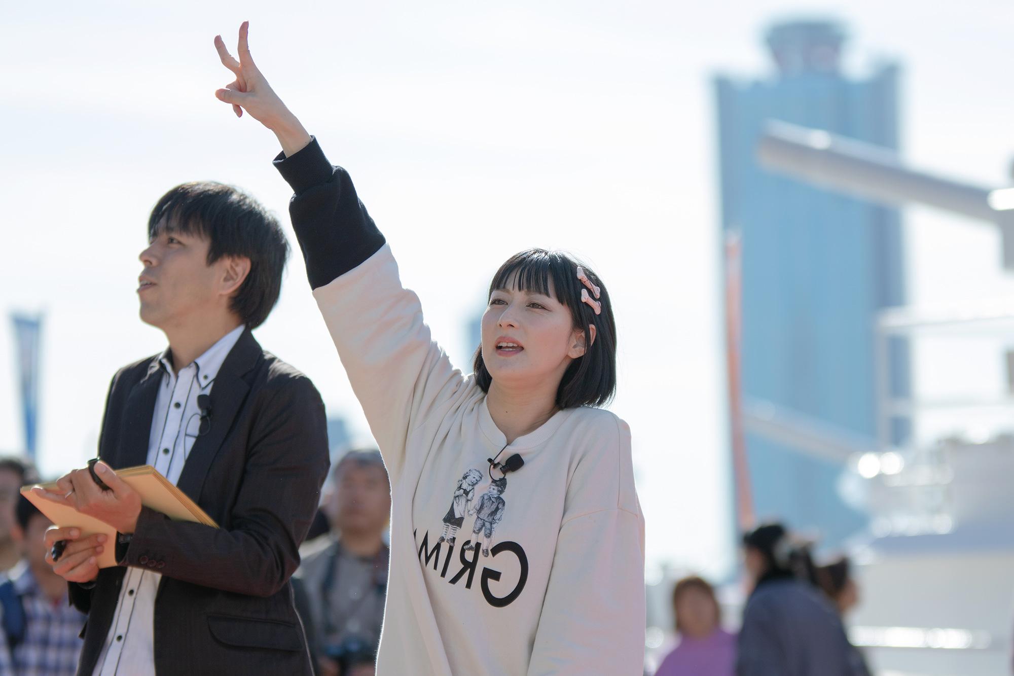 第12回MINATO天保山まつり(大阪市港区)2019.11.10 鳥居みゆき