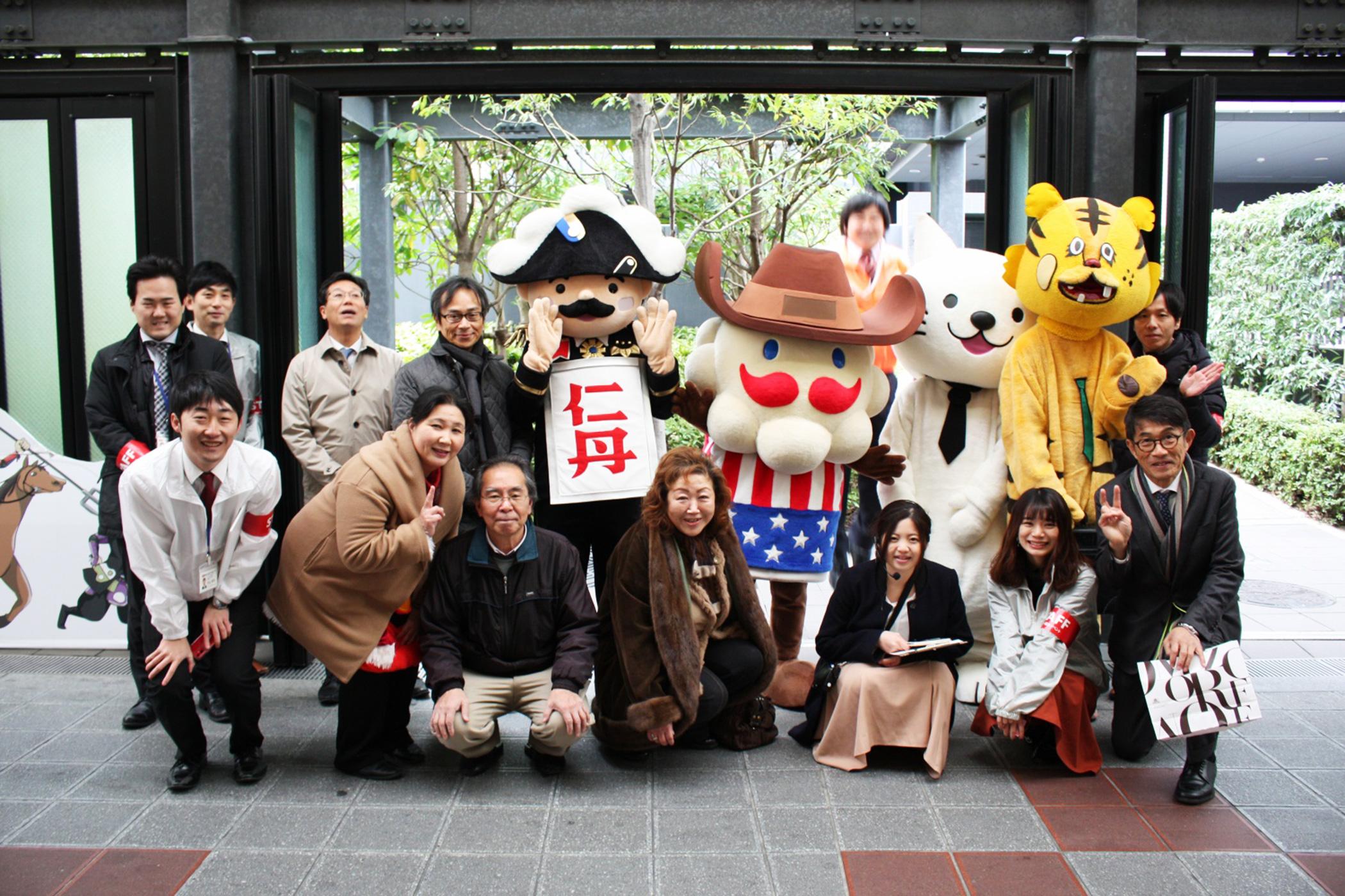 とらとうちゃんの休日出勤(玉造商店街2020日めくりカレンダー無料配布会|2019年12月7日)