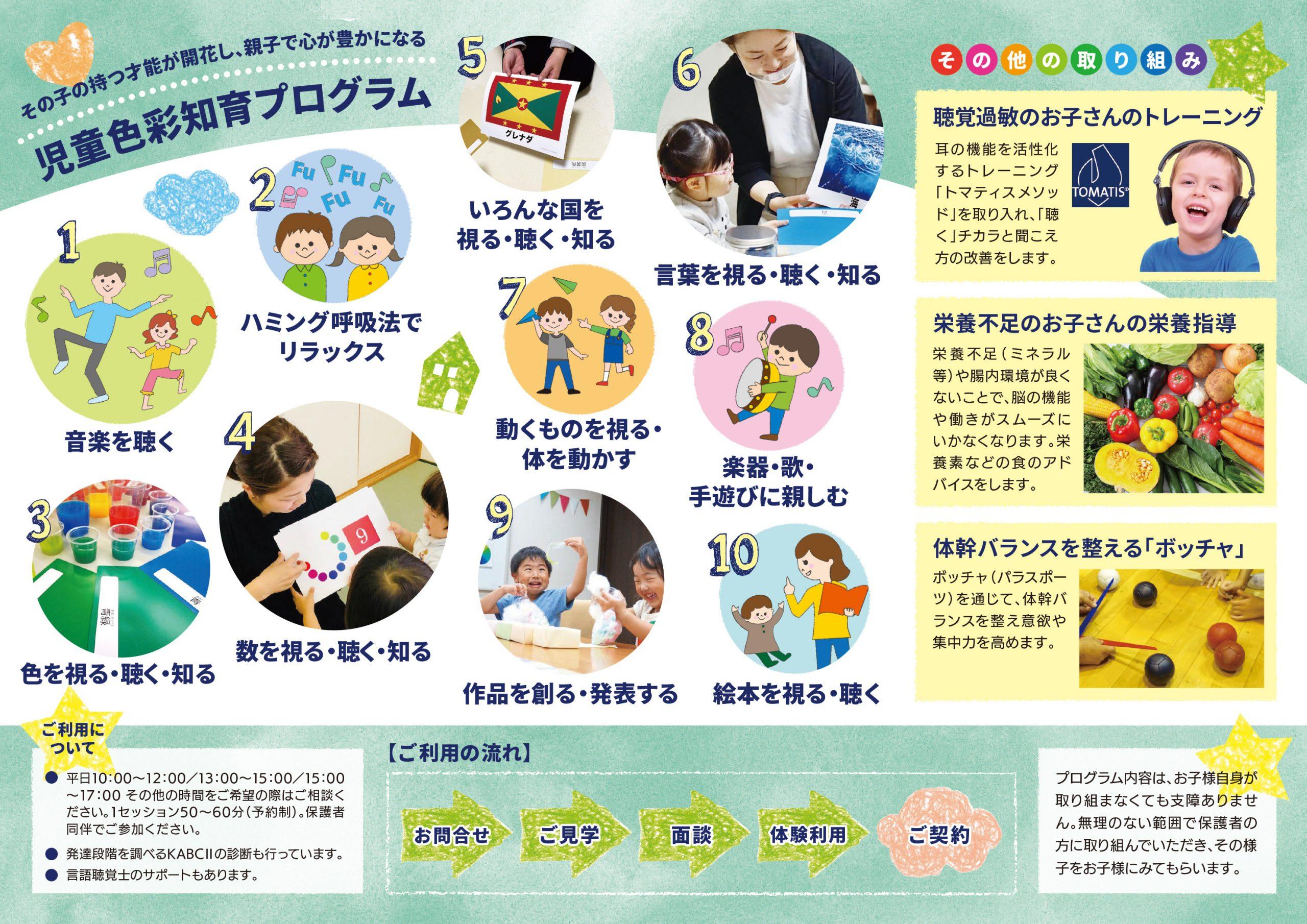 発達が気になるお子さんのための「親子で一緒に色彩知育」|なないろキッズ様(大阪市天王寺区)